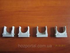 Крепеж для гофры и трубы d:40mm.
