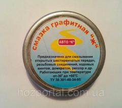 """Смазка графитная""""Ж"""" 20г"""