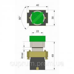 Кнопка PB2-BK2365 2-х позиційний перемикач з...