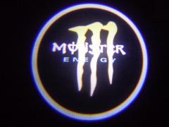 ЛАЗЕРНЫЙ ПРОЕКТОР МАРКИ АВТО MONSTER(energy)