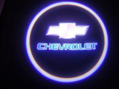 ЛАЗЕРНЫЙ ПРОЕКТОР ЛОГОТИПА В ДВЕРИ Chevrolet