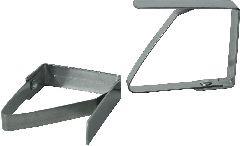Зажим для скатерти металлический (столешница до