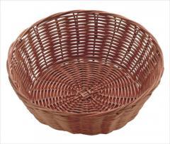 Корзина для хлеба плетен. круглая 20*7 см, Польша