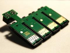 Блок планка чипов T1281-T1284 Epson SX200,BX300..