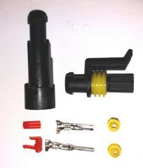 Разъём герметичный 1 pin . Комплект