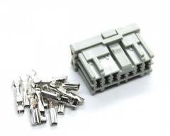 Разъём 12 pin. серый