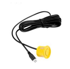 Датчик парктроника 22 мм желтый