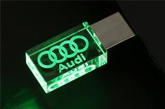 USB 3D AUDI 32G ЗЕЛЕНАЯ
