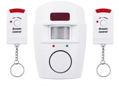 Автономная сигнализация 105 dB(для помещений-дома,гаража,кладовки с датчиком движения)