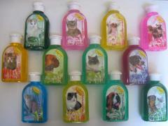 Шампуни для котів та собак 240 мл Круг