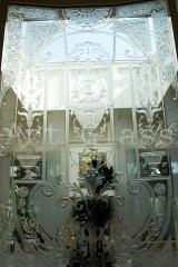 Let's make glass balcony doors with an exclusive decor