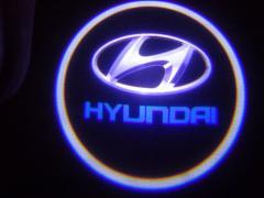 ЛАЗЕРНЫЙ ПРОЕКТОР ЛОГОТИПА В ДВЕРИ Hyundai