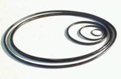 Rubber products: epiploons (cuffs), crude rubbers