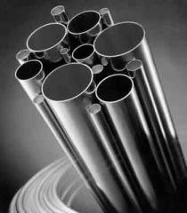 Seamless pipes from stainless steel