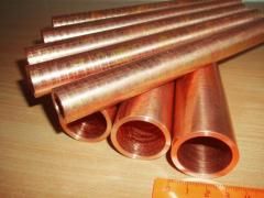 Pipes are bronze