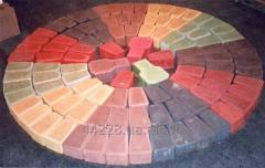 Iron colors for concrete and gypsum, additives in