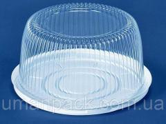 Упаковка для тортов ПС-24 (V3500мл)Ф260*116 (50