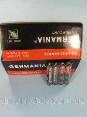 Элемент питания Батарейка Германия (ААА R3)