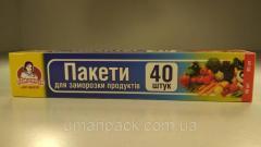 Пакеты для замораживания (40шт 10мкм 20*30) короб.