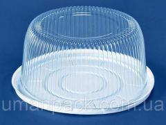 Упаковка для тортов ПС-25 (V5300мл)Ф280*122 (50