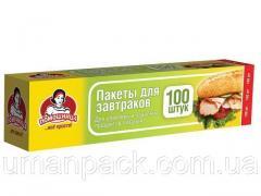Пакеты для бутербродов (100шт 5,5мкм 20*30) короб.