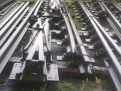 Completing upper structure of railway way rails,