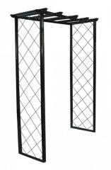 Металлическая декоративная садовая арка