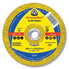 Cutting wheel Klingspor 125*1/1,6*22 on metal
