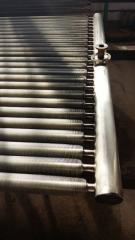 Heat exchangers for drying chambers of timber