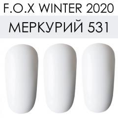 Гель лак FOX зима 2020 Меркурий 531,  6ml
