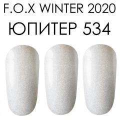 Гель лак FOX зима 2020 Юпитер 534,  6ml