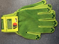 Перчатки рабочие синтетические с покрытием ПВХ