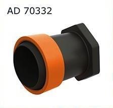 Заглушка для ленты 32 мм туман(GS) Aquapulse