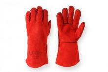 Краги сварочные длинные, перчатки для сварочных