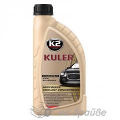 Антифриз -80°Cкрасный 1л концентрат Kuler