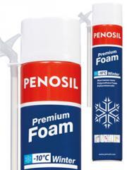 Polyurethane foam manual winter PENOSIL Foam