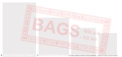 Bag polypropylene woven with an open mouth