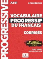 Vocabulaire Progressif du Français 3e Édition