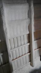 Materials thermoinsulating, polyurethane foam,