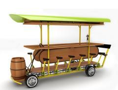 Bar on wheels Drive&Drink