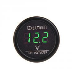 Вольтметр в прикуриватель зеленый 12 В