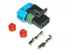 Разъём 2 pin вентилятора печки ВАЗ 2110,2112 и др.