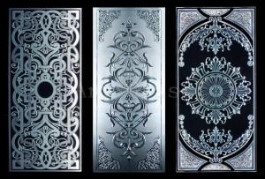 Stained-glass windows exclusive with a design