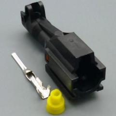 Разъём герметичный 1 pin папа (Ксенон) . 10 штук.