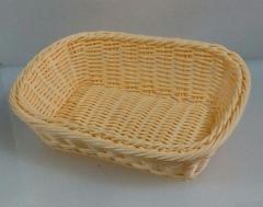 Корзина для хлеба пластиковая прямоугольная 25*20