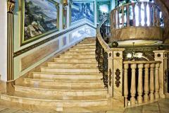Лестницы из мрамора,  лестницы мраморные -...