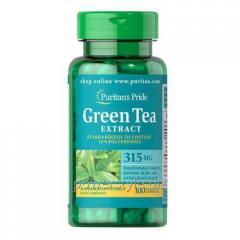 Витамины Puritan's Pride Green Tea Extract 315 mg
