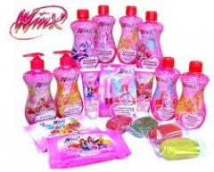 Children's cosmetics of Winx