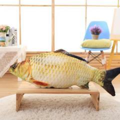 Плюшевая подушка - рыба 20, 40, 60, 80 см