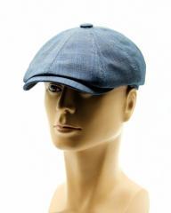 Восьмиклинка летняя кепка серая.